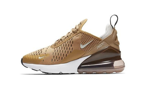 NIKE AIR MAX 270 Original New Arrival Kids Running Shoes Outdoor Sports Air Mesh Sneakers #943345