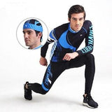 CoolChange Cycling Clothing Long sleeve  Cycling Jersey Set Mountain bike road bike Cycling Jersey Get pirate hat sports scarf - CoolChange Sports flagship store - Cycling Sets - Safaryworld.com