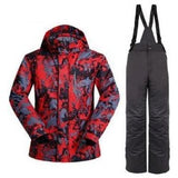 Men Winter Snowboard Suit Snowproof And Waterproof  Windproof  Ski Jacket