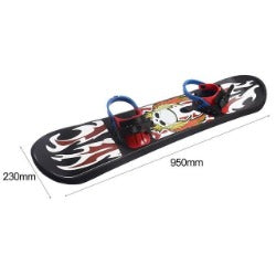 Hewolf Outdoor Sports  Plastic style Single Board Two-way Snow Grass Sand Board for Children & Adults