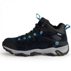 men's hiking shoes  winter outdoor sports climbing shoes non - slip warm lace-up trekking sneakers