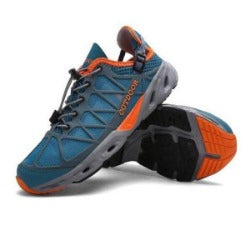 ALDOMOUR hiking shoes men outdoor  climbing sports senderismo  trekking Breathable shoes