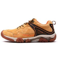 Genuine Leather High Quality  Men's  Outdoor Sports Hiking Shoes