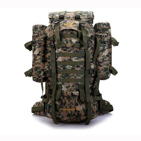 80L CP Camouflage Military Camping Equipment Women Bag Trekking Sport Rucksacks Men Capacity Multifunction Men's Travel Backpack - Safaryworld Camping Fishing - Climbing Bags - Safaryworld.com