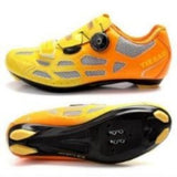 Professional Womans Road Bike  Cycling Shoes  Racing Bicycle Self-locking Athlete Shoes with Fast Tuning Knob Laces