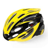 Men Women Cycling Racing Road Helmet MTB Bicycle Bike Safety Equipment 56-63cm EPS Adjustable Yellow Blue Cycling Accessories - Bela Vida - Bicycle Helmet - Safaryworld.com