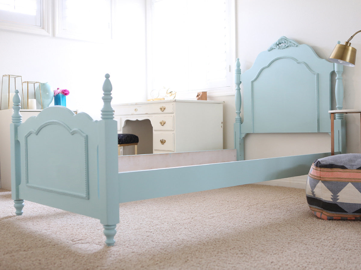 Shabby Chic French Provincial Vintage Bed Frame Twin Size No143 ...