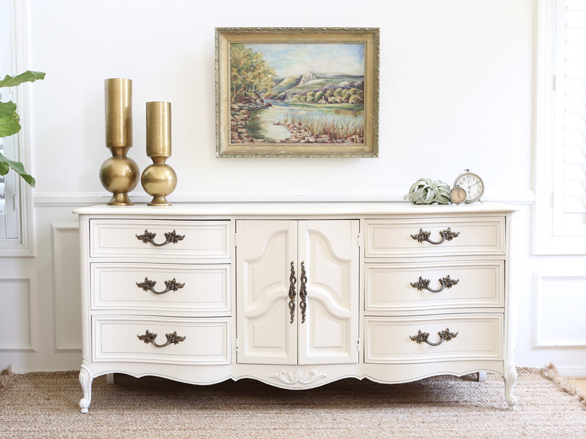 Brand Dixie Shabby Chic French Provincial Vintage Dresser