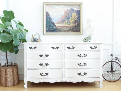 Shabby Chic Vintage French Provincial Dresser No 573