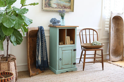 Shabby Chic BeachHouse Entreyway Cabinet / Table No167 - ShopGoldenPineapple