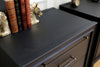 Vintage Classic Mid Century Modern Black Nightstands by United Furniture - A Pair No 636 - ShopGoldenPineapple