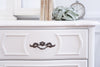 Shabby Chic Vintage French provincial Dresser / Credenza with Mirror 9 drawers No198
