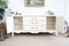Thomasville Shabby Chic French Provincal Vintage Media TV Stand Buffet / SideBoard Dresser 221 - ShopGoldenPineapple