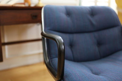 Mid Century Modern Knoll International Desk Chair / Office Chair No 381 - ShopGoldenPineapple