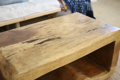 Solid wood coffee table No 520 - ShopGoldenPineapple