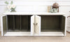 Shabby Chic Vintage Media TV Stand Buffet / SideBoard Dresser 266 - ShopGoldenPineapple