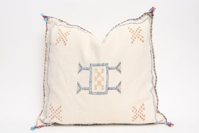 Moroccan Sabra Cactus Silk Pillow - ShopGoldenPineapple