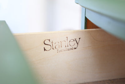 Rustic FarmHouse Vintage Cabinet / Nightstand / Side table by Stanley No 510 - ShopGoldenPineapple