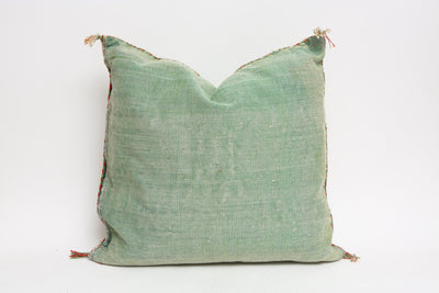 Moroccan Sabra Cactus Silk Pillow No 412 - ShopGoldenPineapple