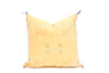 Moroccan Sabra Cactus Silk Pillow No TT102 - ShopGoldenPineapple