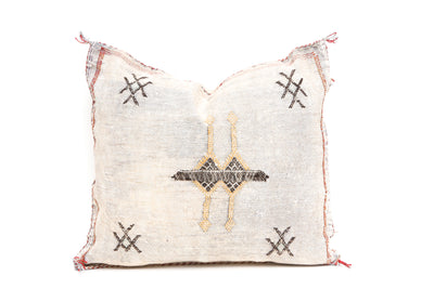 Moroccan Sabra Cactus Silk Pillow No TT105 - ShopGoldenPineapple