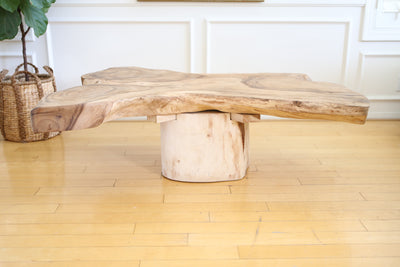 Live edge  wood coffee table No 523 - ShopGoldenPineapple