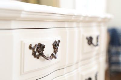 Thomasville Shabby Chic French Provincial Vintage HighBoy Tall Dresser No295 - ShopGoldenPineapple