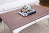 Ethan Allen Shabby Chic Vintage Wooden Top Coffee Table with Drawer No309 - ShopGoldenPineapple