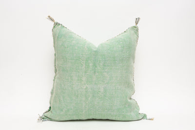 Moroccan Sabra Cactus Silk Pillow No TT501 - ShopGoldenPineapple