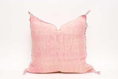 Moroccan Sabra Cactus Silk Pillow No TT502 - ShopGoldenPineapple