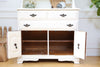 Shabby Chic French Provincial Vintage Hutch / Cabinet No 196 - ShopGoldenPineapple