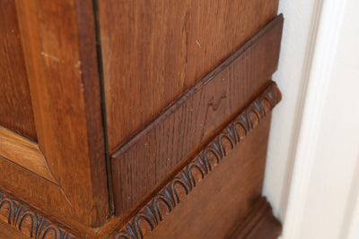 Antique Holland Cabinet Hutch / BookCase / Bookshelf over 100 years old No328 - ShopGoldenPineapple