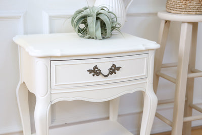 Vintage Shabby Chic Single Night Stand / Side Tabel / End Tabel No65 - ShopGoldenPineapple