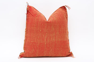 Moroccan Sabra Cactus Silk Pillow No TT516 - ShopGoldenPineapple