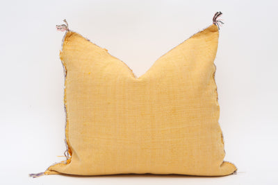 Moroccan Sabra Cactus Silk Pillow No TT521 - ShopGoldenPineapple