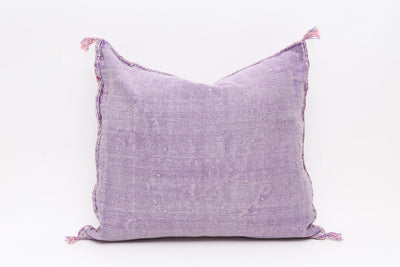 Moroccan Sabra Cactus Silk Pillow No T539 - ShopGoldenPineapple