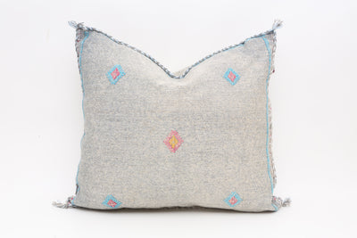 Moroccan Sabra Cactus Silk Pillow No T543 - ShopGoldenPineapple