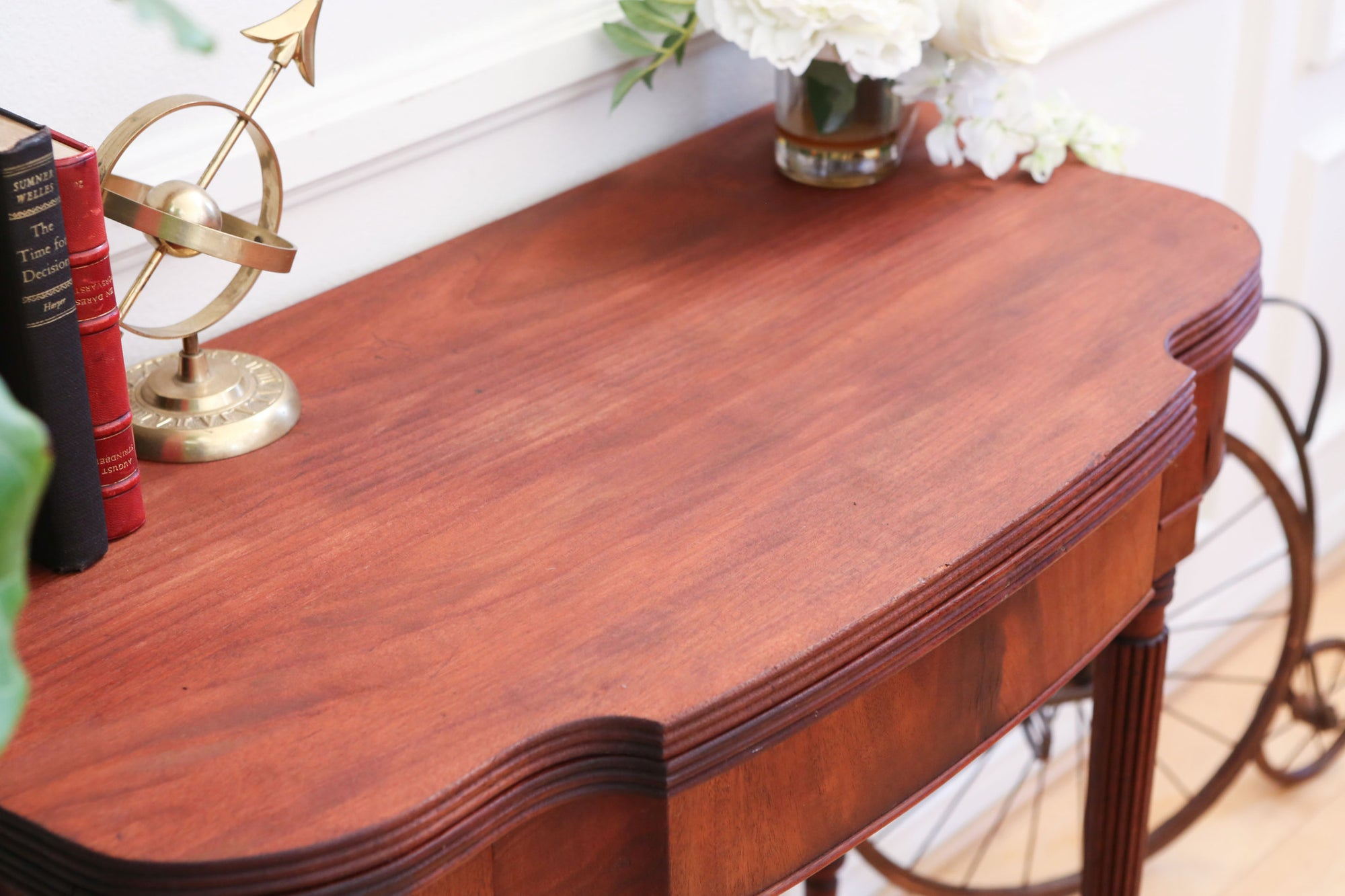 in 1 Vintage Convertible Table Console to Dining Table No 362