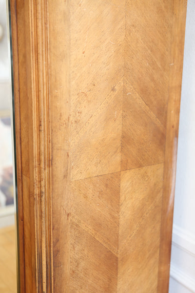 19th Century Antique French Wood Armoire No 606 - ShopGoldenPineapple