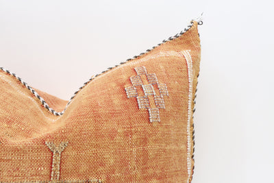 Moroccan Sabra Cactus Silk Pillow No T702 - ShopGoldenPineapple