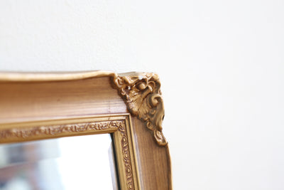 Over Sized Vintage French Ornate Gold Mirror No 601 - ShopGoldenPineapple