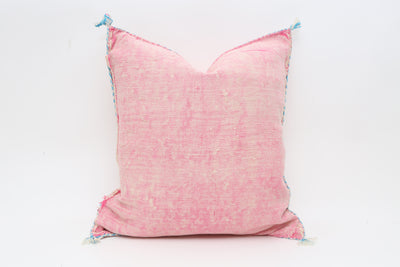 Moroccan Sabra Cactus Silk Pillow No T703 - ShopGoldenPineapple