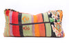 Vintage Moroccan Rug Lumbar Pillow Cover - T712 - ShopGoldenPineapple