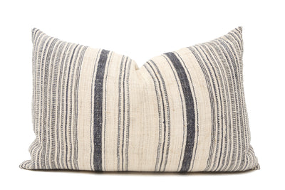 VINTAGE HMONG HEMP HAND WOVEN PILLOW - T719 - ShopGoldenPineapple