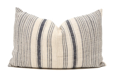 VINTAGE HMONG HEMP HAND WOVEN PILLOW - T720 - ShopGoldenPineapple