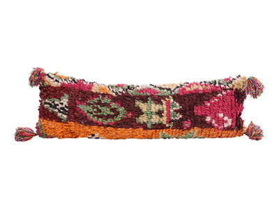 Vintage Moroccan Rug Lumbar Pillow Cover No M5