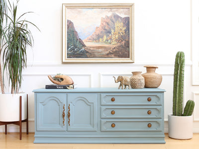 Century Furniture French Provincial Media Console / Sideboard No 637-1 - ShopGoldenPineapple