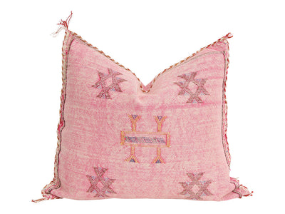 Moroccan Sabra Cactus Silk Pillow Cover CSP9