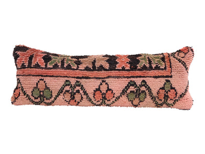 Vintage Moroccan Rug Lumbar Pillow Cover No M11 - ShopGoldenPineapple