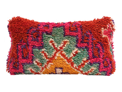 Vintage Moroccan Rug Pillow Cover No M15 - ShopGoldenPineapple